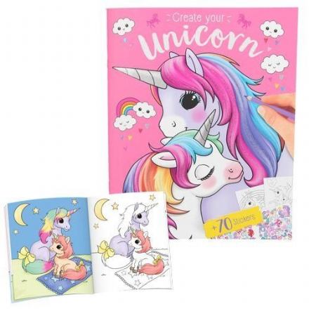 Create Your Unicorn Sticker Book